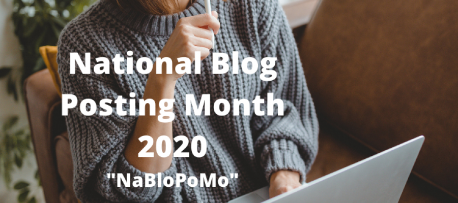 National Blog Post Month