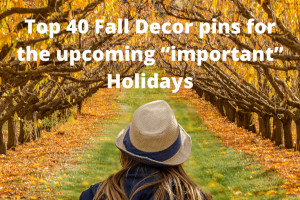 Top 40 Fall pins