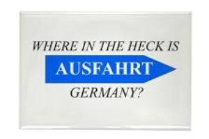 Where is Ausfahrt Germany?