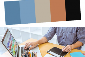 Making a color palette to make your blog distinguishable
