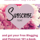"""Good traffic, but few subscribers – 20 Simple ways to get """"new"""" Subscribers – Day 4 of 20."""