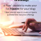 A Checklist to make a Tripwire for your blog.