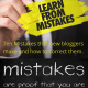 Ten Mistakes that new bloggers make and how to correct them.