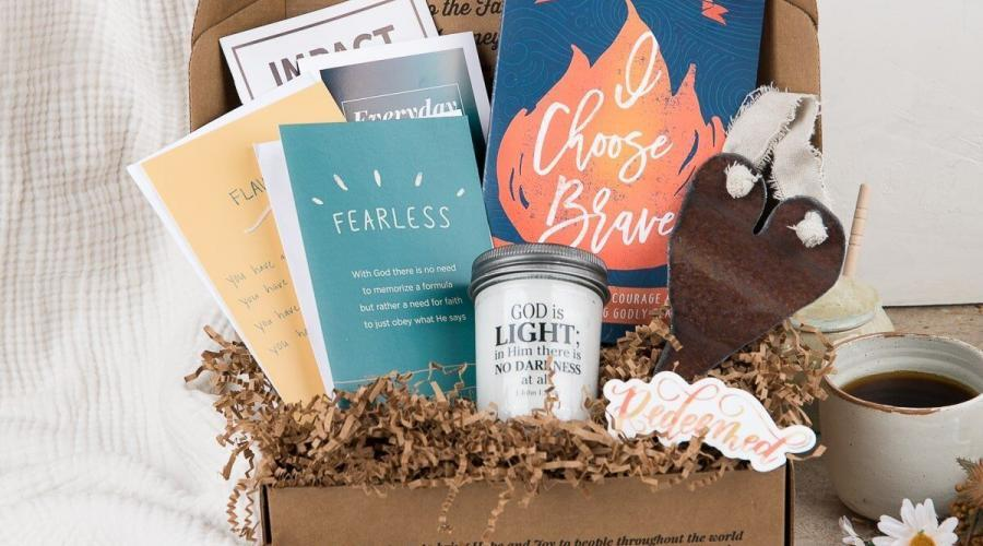 Give the gift of Jesus with a subscription to Faithbox
