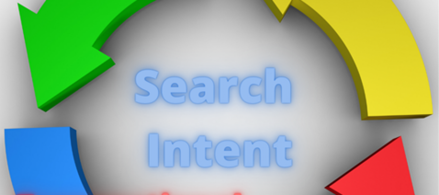 Circel depicting the four types of search intent