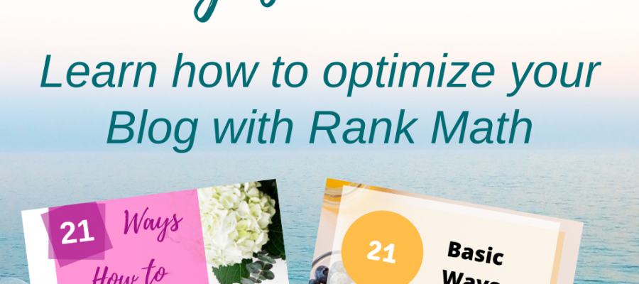 21 Basic ways for how to Optimize your Blog for SEO